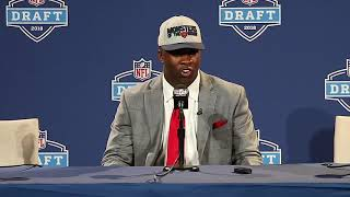 2018 NFL Draft: LB Roquan Smith Presser