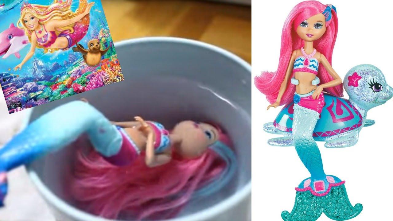 Uncategorized Mermaid Barbie Videos barbie mermaid doll review youtube