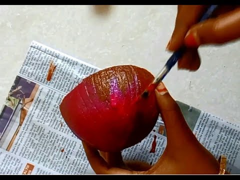 Coconut Shell Craft | Best out of waste ideas from coconut shell