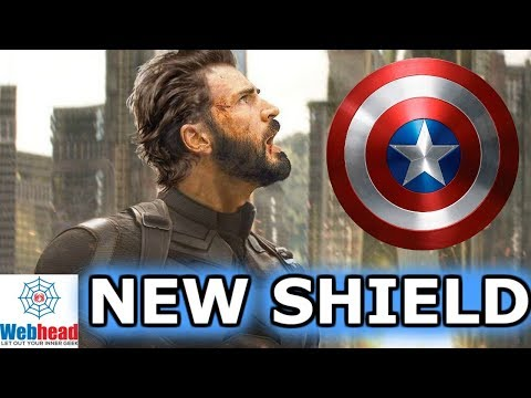 Captain America's NEW SHIELD in Infinity War Theory! NOT CLICKBAIT!