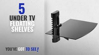 Top 10 Under Tv Floating Shelves [2018 ]: Mount Factory - Adjustable Wall Mount / Single Floating