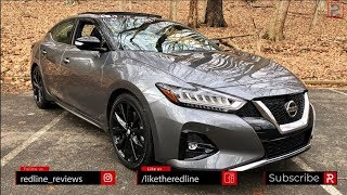2019 Nissan Maxima SR - The 4-Door Sports Car?