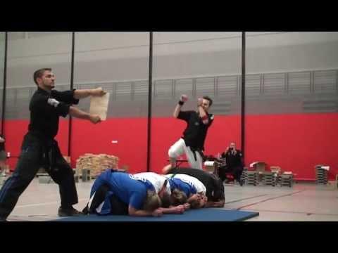 Adam Grogin Slo-mo trick kick.