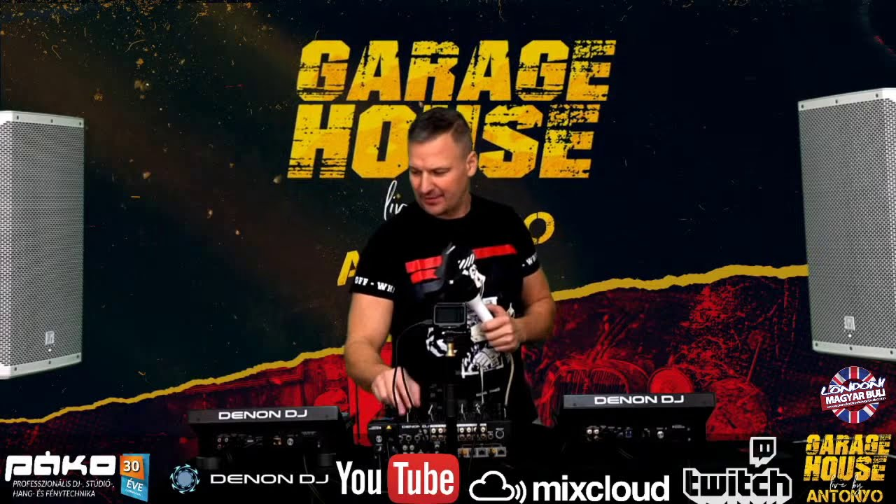ANTONYO GARAGE HOUSE LIVE MIX - 2020.11.28