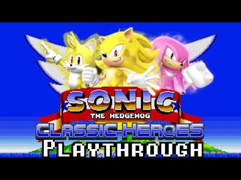 [TAS] Sonic Classic Heroes: Runthrough as Team Super Sonic