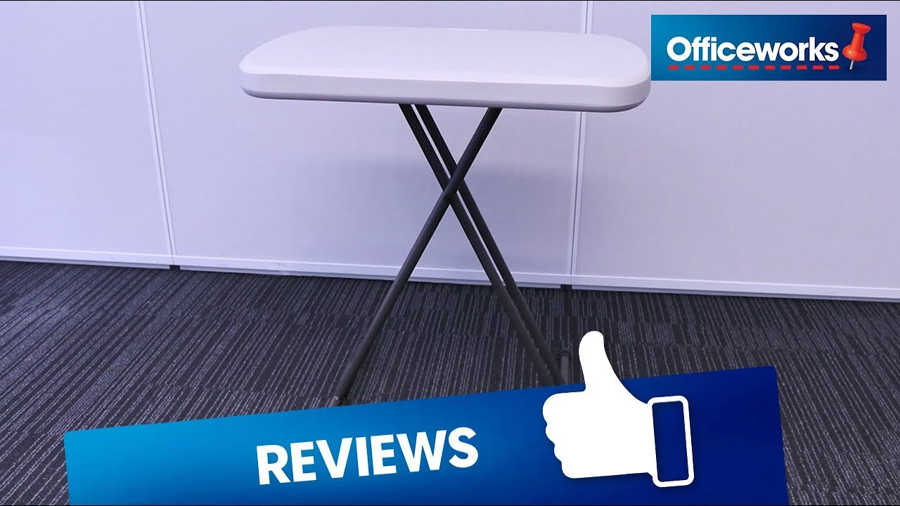 Lifetime Personal Folding Table Overview Officeworks