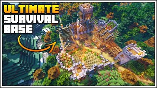 Minecraft Timelapse - The Ultimate Survival Base!!! [World Download]