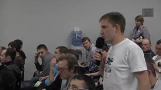 #Квартирники Леонид Кальнеус Sibneuro Встреча Go-сообщества. Переход с любимого языка на Go