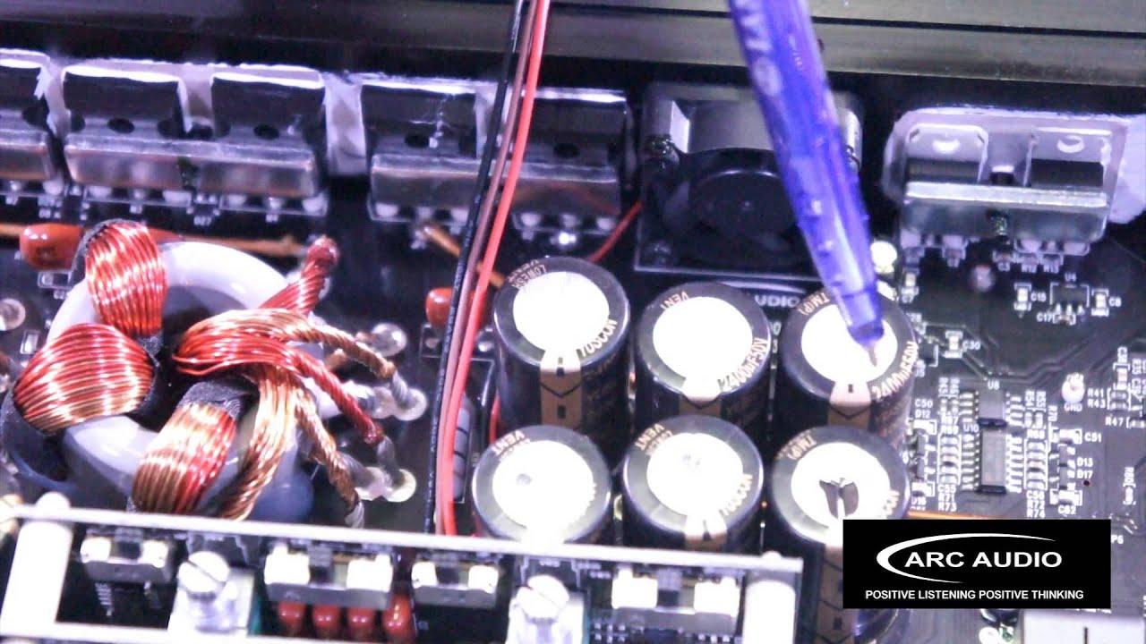 Arc Audio XDi 1200.6  Six Channel Amplifier