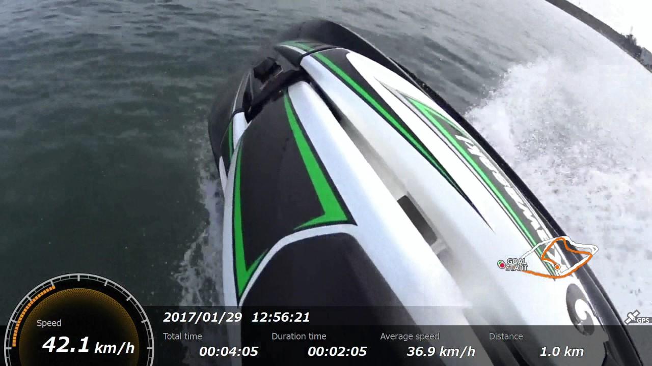 2017 kawasaki sx-r 1500 test ride kiso - youtube