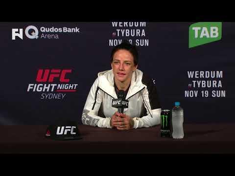 UFC Fight Night Sydney - Post Presser - Jessica-Rose Clark