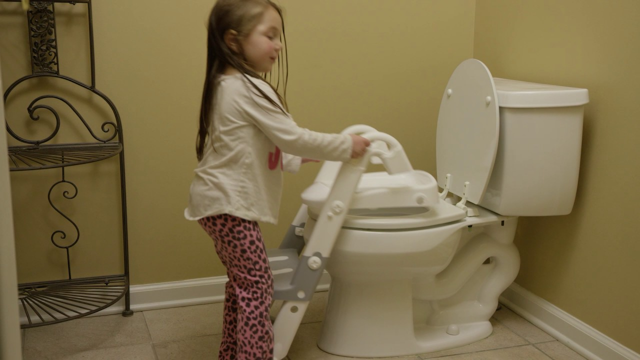 3-IN-1 TOILET TRAINER - WHITE/GREY [1610] - YouTube