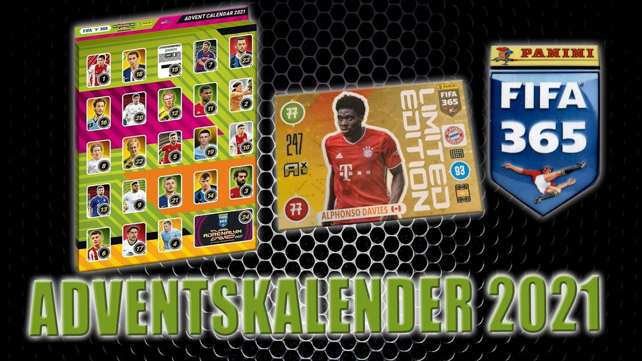 Fifa Calendar 2021 PANINI FIFA 365 ADRENALYN XL 2021 ⚽ ADVENTSKALENDER ADVENT