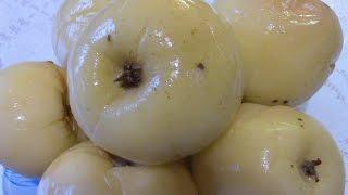 Моченые яблоки в домашних условиях. Рickled apples.