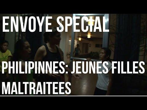 Envoyé Spécial - Association : les jeunes filles maltraitées aux Philippines