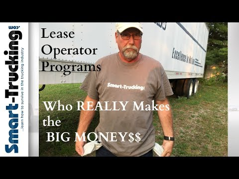 Why Trucking Lease Operator Programs Won't Work For YOU