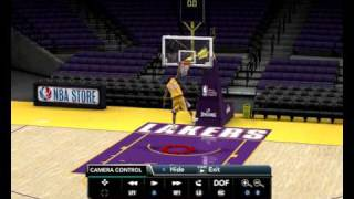 NBA 2k10 Kobe 360 dunk