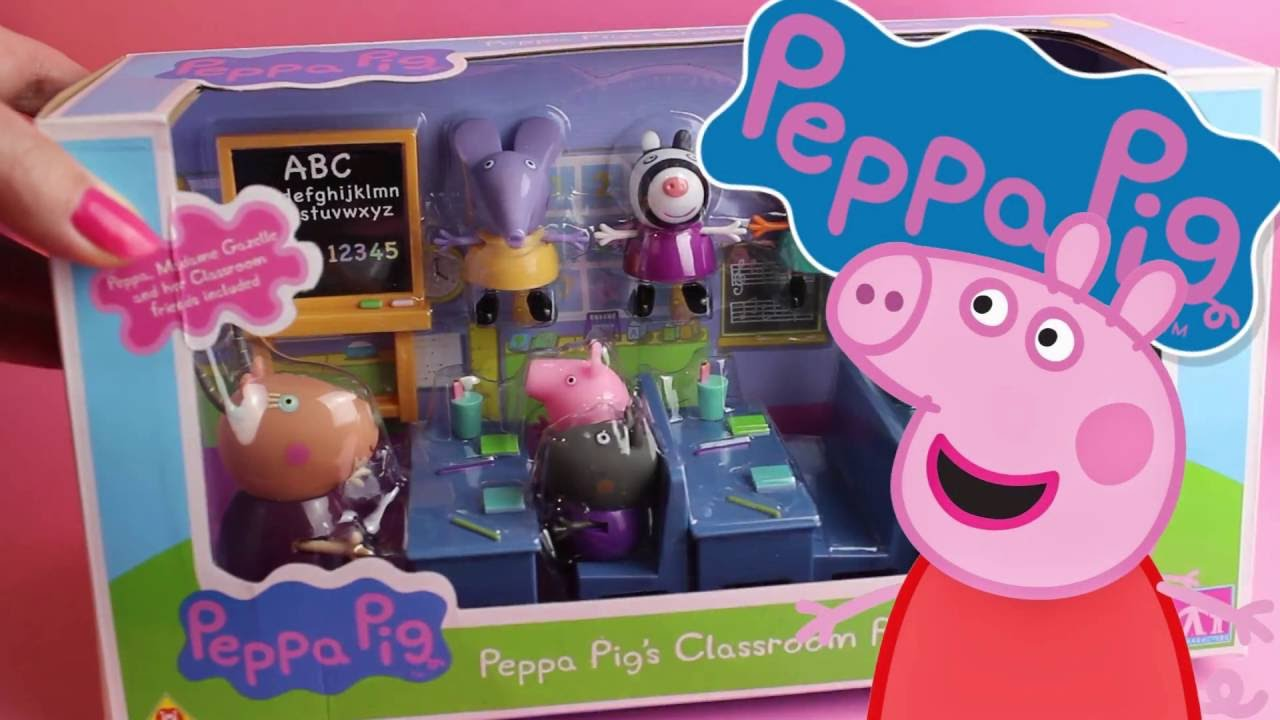 Peppa pig la classe di peppa pig gioco in italiano per for Peppa in italiano