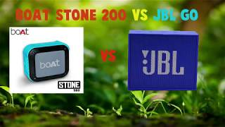 Boat Stone 200 vs JBLGO Comparison