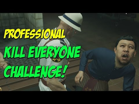 Bangkok Professional Kill Everyone Challenge! - Hitman