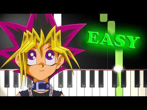 YU-GI-OH! THEME SONG - Easy Piano Tutorial