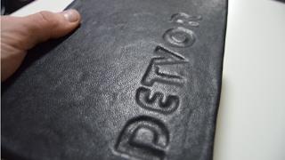 DETVOR - ruční výroba kožené knihy