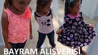 Elif için BAYRAM ALIŞVERİŞİ, niyetimiz elbise almaktı ama yine olmadı, Eğlenceli çocuk videosu