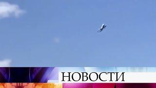 Из-за сильного ветра пассажирский самолет не смог приземлиться в аэропорту Гибралтара.