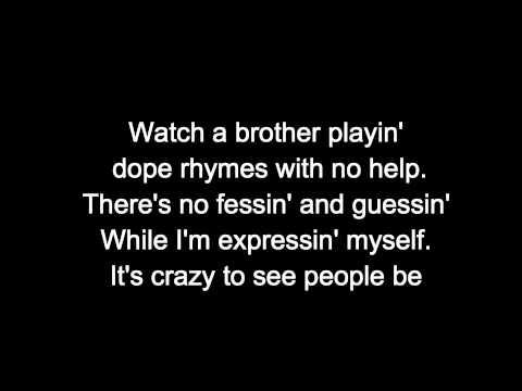 N.W.A. - Express Yourself [LYRICS]