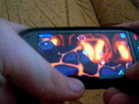 ●Worms HD на Symbian ^3(Nokia C7-00)