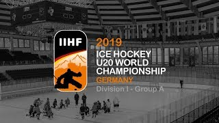 U20 WM Division I 2018: France vs. Austria