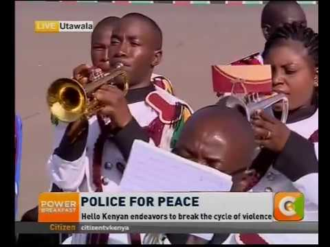 Power Breakfast: Police for Peace
