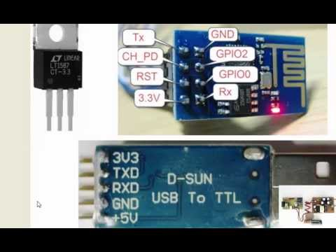 Internet of things - IOT - Standalone ESP8266 ,switch by Android phone