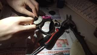 Ремонт поводка-рулетки для собак Flexi.
