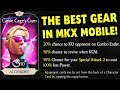 MKX Mobile. Cassie Cage's Gum Equipment Card. The Most Overpowered Secret Gear in MKX Mobile!