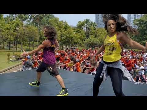 New Choreography to 'Latin Trap'