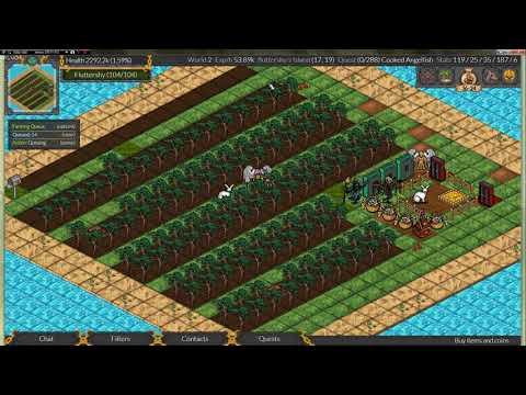 RPG MO. Гайд по огороду, как работает очередь действий на острове