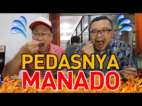 KULINER MANADO - AYAM WOKU & CAKALANG SUPER PEDAS CAMPUR DABU-DABU!!!