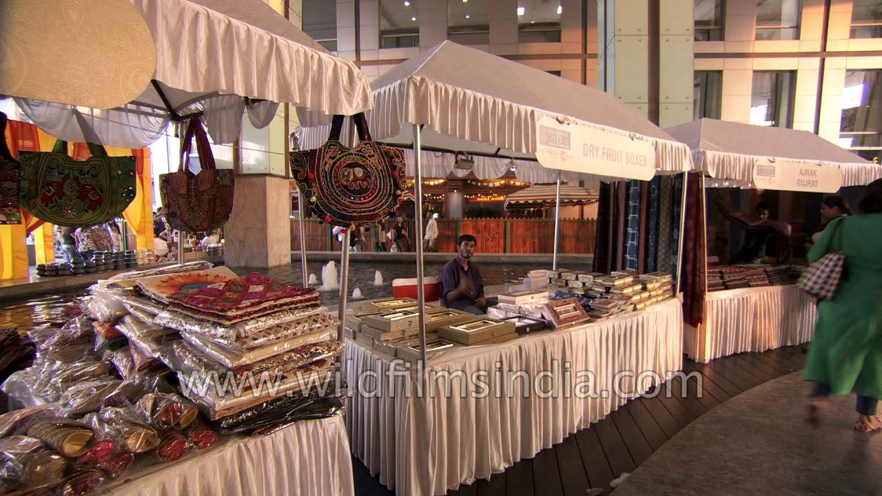 Colourful Gujarati Handicraft And Handlooms For Sale At Dlf Cyberhub