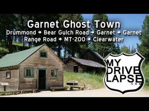 Dirt Road Drive to a Ghost Town: Garnet, Montana