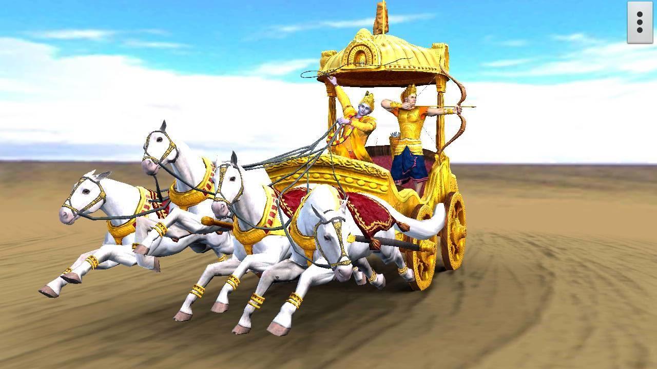 Arjuna Krishna's 3D Mobile App, Live Wallpaper - YouTube
