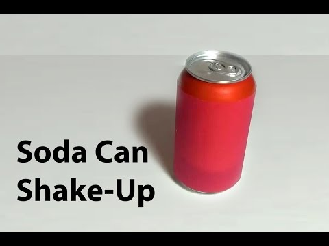 Soda Can Shake-Up,  Stop From Exploding