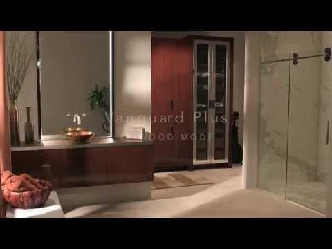 Vanguard Plus Floating Vanity and Closet