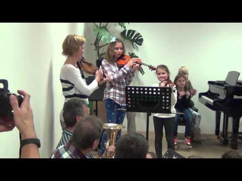Instrumentenkarussell 2015/16 - 1. Konzert - ZMS Jennersdorf