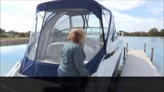 Crownline Boat Mounting Bracket GPB-37-6-2Gas Shock 1//2 Inch Stud