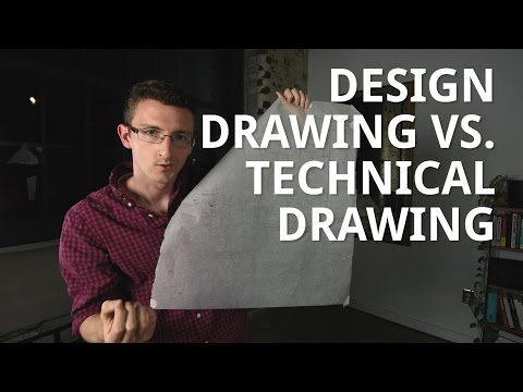 Design Drawing Vs Technical Drawing