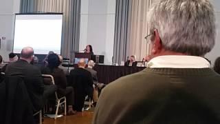 JoLisa McDay speaks at Flint town hall- part 7- 01.11.2017