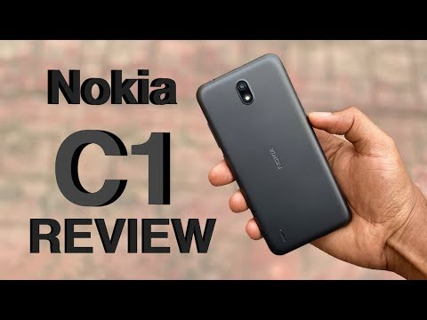 Nokia C1 Unboxing and Review
