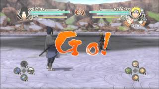Naruto Shippuden Part 7 Ultimate Ninja Storm Generations Walkthrough Gameplay [HD] Xbox360