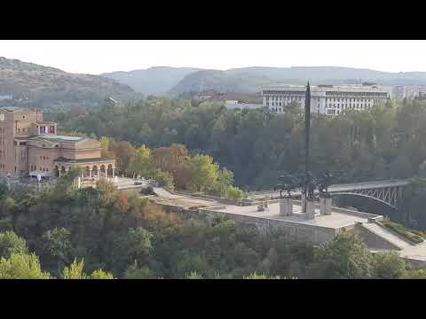 Veliko Tarnovo - View Looking At Asen Dynasty Monument